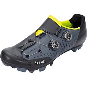 Fizik Infinito X1 MTB Schuhe Herren grau/gelb fluo